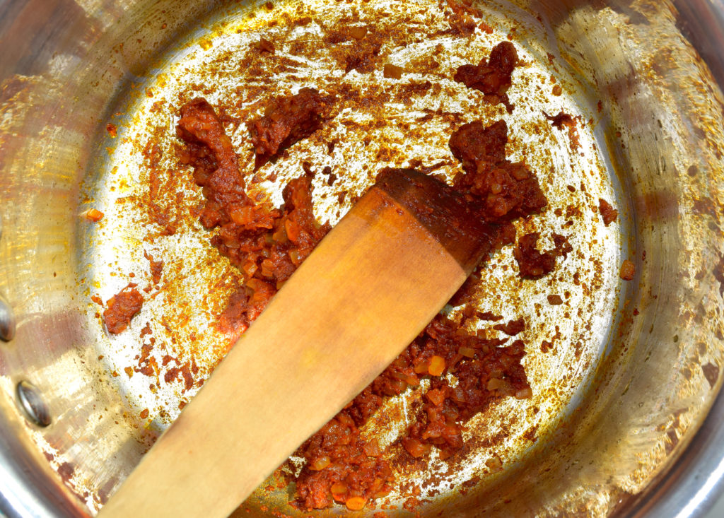 frying-chickpea-spices