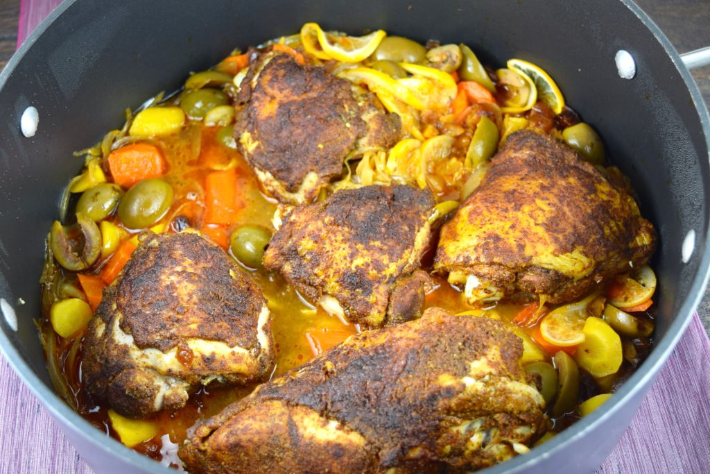 Moroccan Chicken Completed