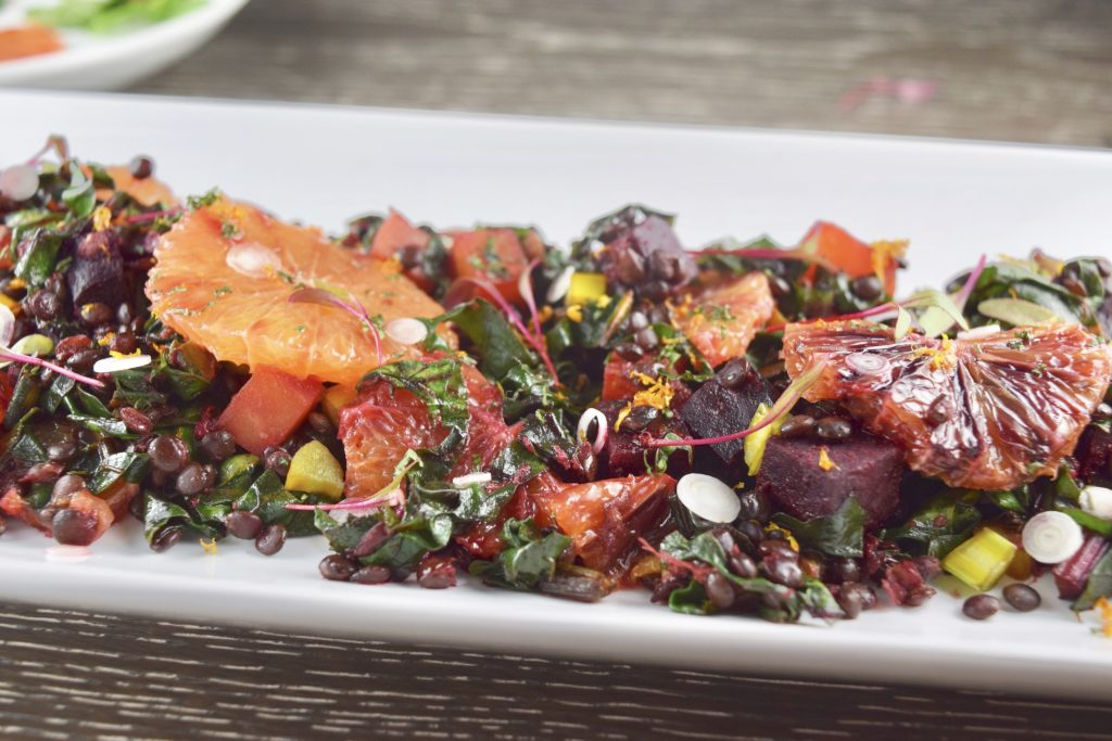 Beet Lentil Orange Salad Five-Spice