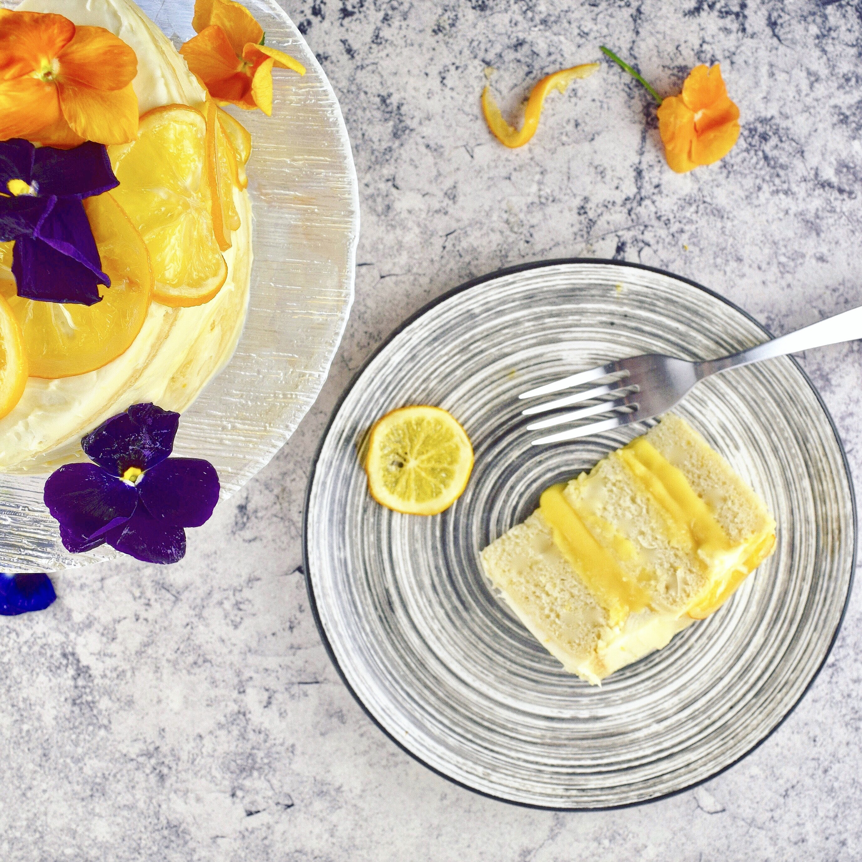 meyer lemon layer cake with cream cheese frosting good health