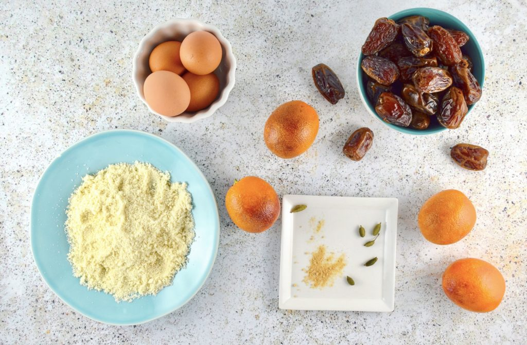 Flourless Blood Orange Cake Ingredients
