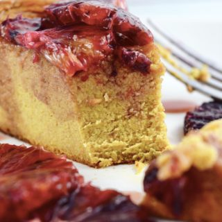 Flourless Blood Orange Cake with Dates & Pomegranate Honey
