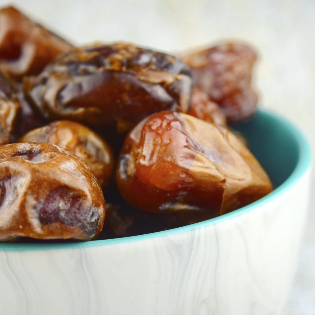 Medjool Dates in Bowl