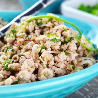 Turkey Larb Bowl