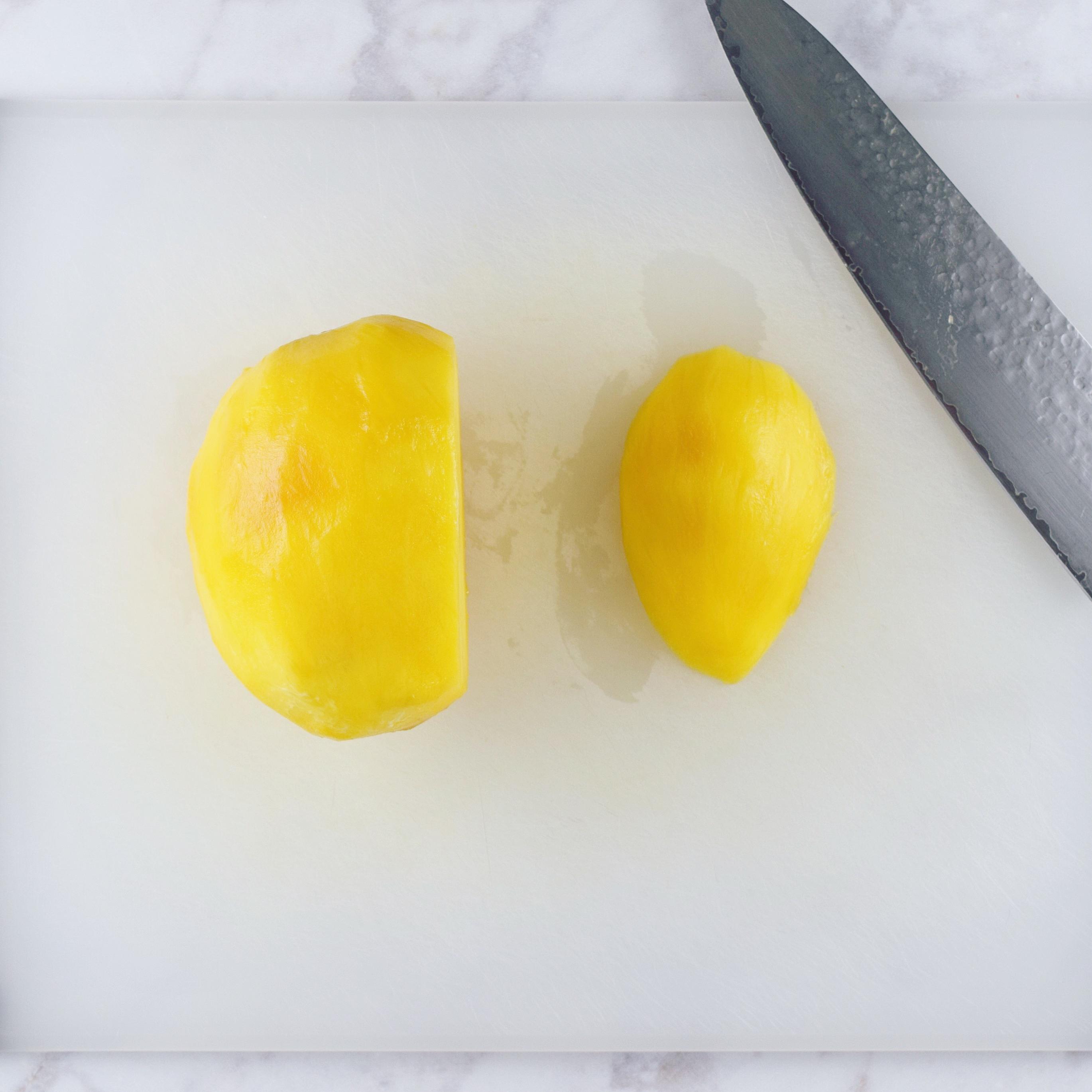 Cutting Mango Side 1 Good Health Gourmet